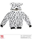 Mens DALMATIAN Costume for Animal Pet Dog Cruella Fancy Dress Outfit