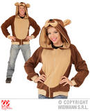 Mens BEAR Costume for Grizzly Paddington Pooh Fancy Dress Outfit