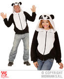 Mens PANDA Costume for Chinese Bear Animal Fancy Dress Outfit