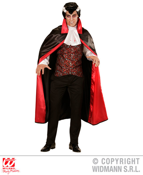 Mens BLOODY VAMPIRE Costume for Bleeding Wound Vampire Fancy Dress Outfit