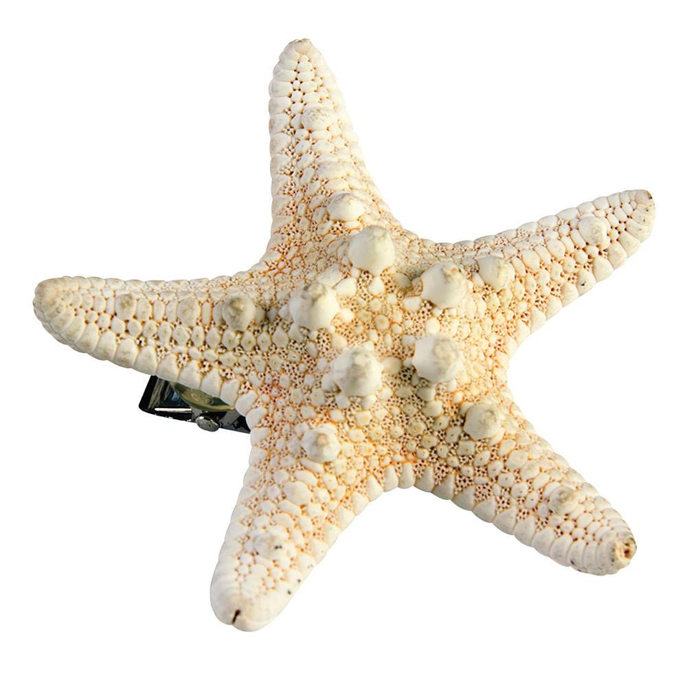Mermaid Starfish Hairclip Ariel Sea Princess Fairytale Hero Fancy Dress