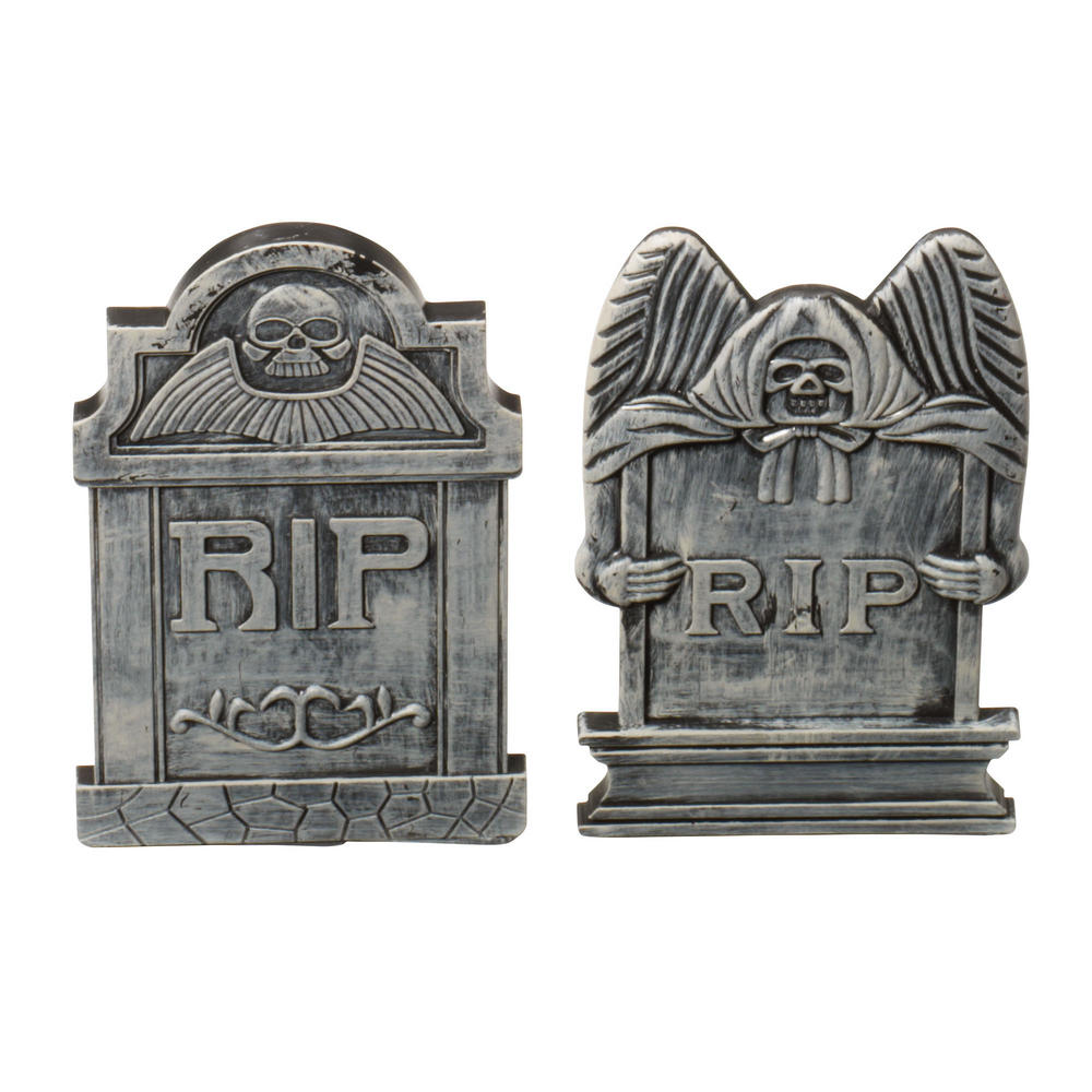 Halloween Tombstones Small 1 of 2 Assorted Trick Or Treat Fancy Dress Party