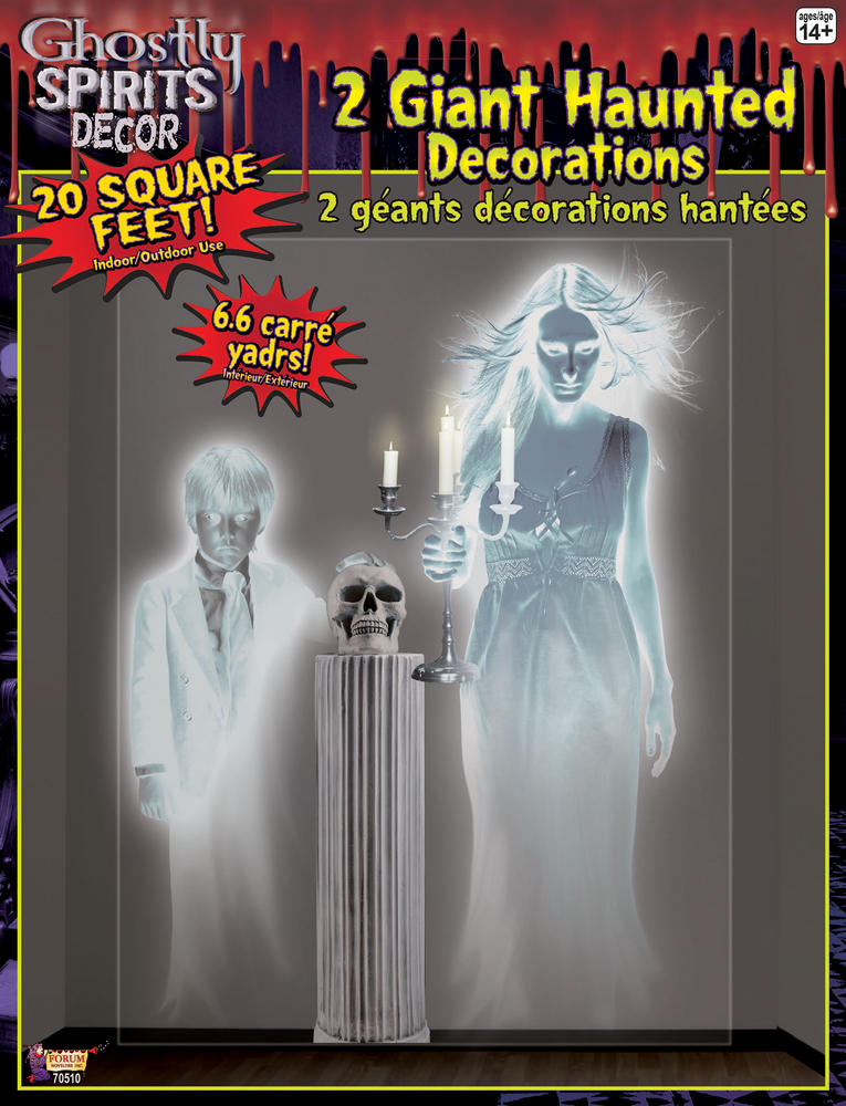 Ghostly Spirit SFX Spooky Frightening Scary Halloween Cosmetic Artist