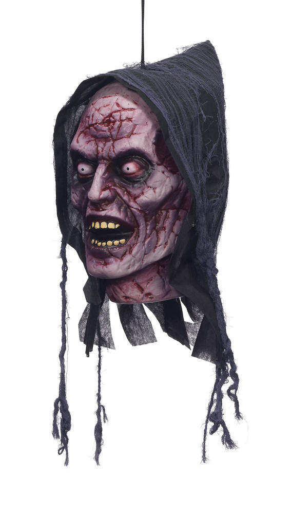 Hanging Head - Ghost Prop for Halloween Party Decoration