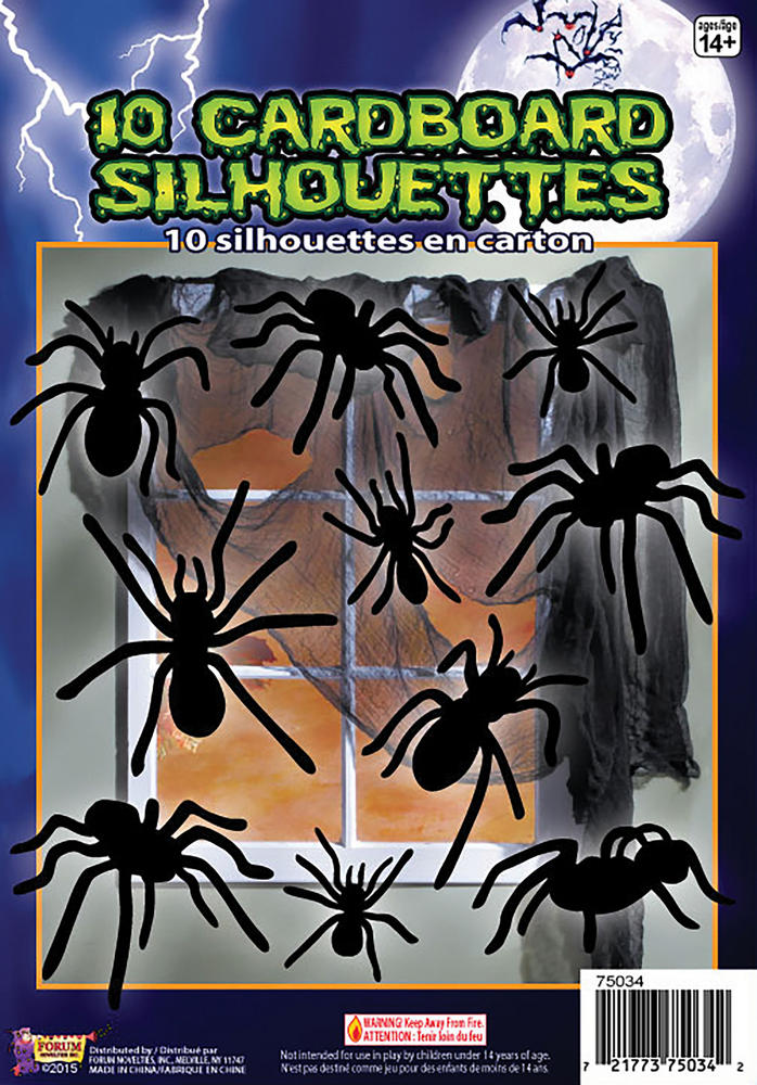 Silhouette Shadow Decoration Halloween Trick Or Treat Party Decoration
