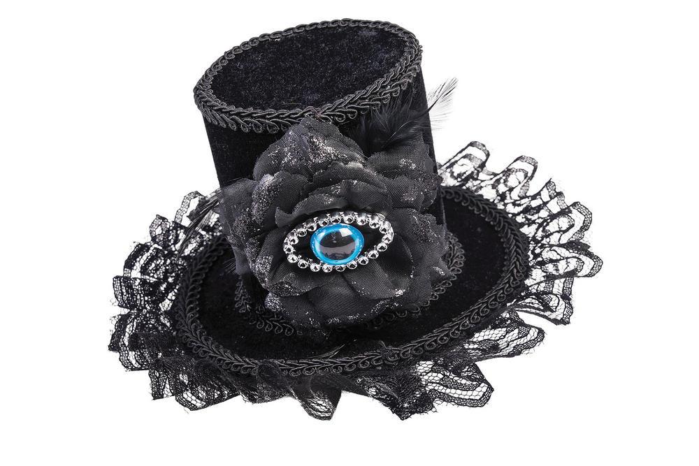 Evil Eye Hat Nasty Wicked Villian Fancy Dress Accessory