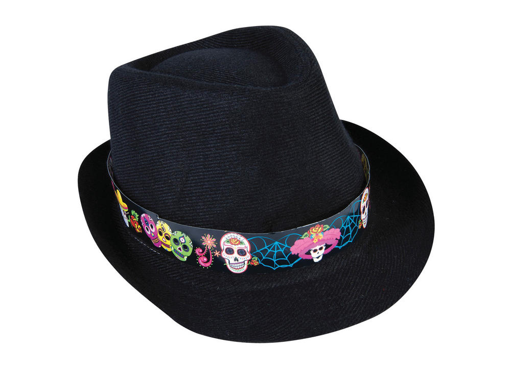 Day of the Dead Fedora Walking Dead halloween Zombie Fancy Dress Accessory