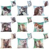 Pets With Personality Cushions for Dog & Cat Animal Home Sofa Furniture Accessor
