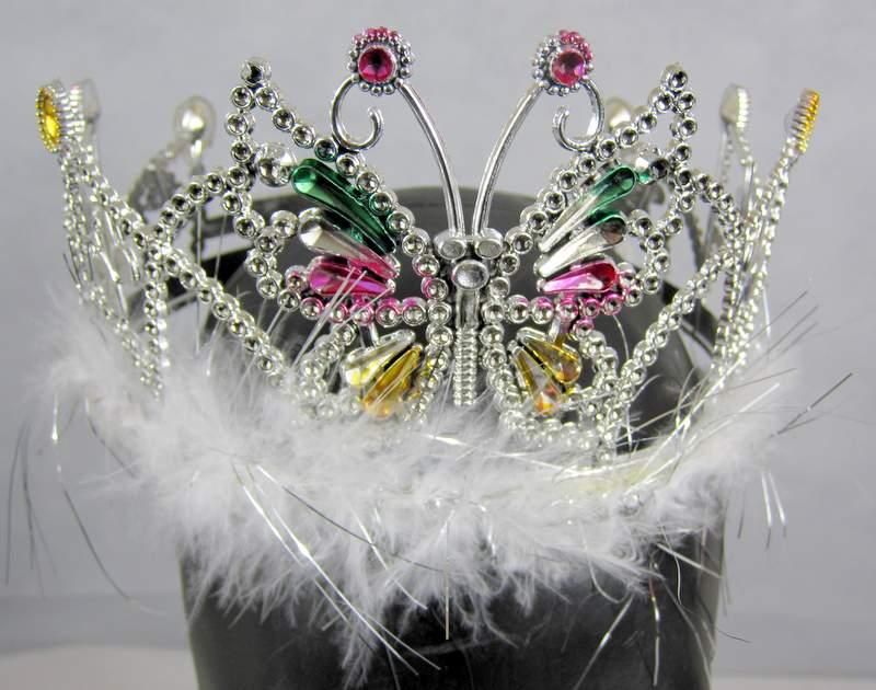 Tiara - Crown Butterfly Princess Fairy Queen