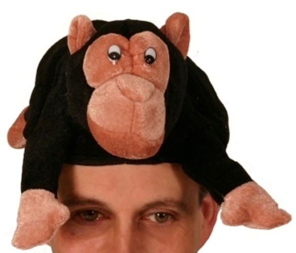 Animal Monkey Hat Creature Nature Zoo Farm