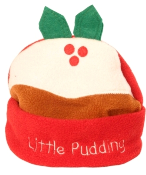 Little Pudding Hat Fleece Childrens size Christmas Seasonal Panto
