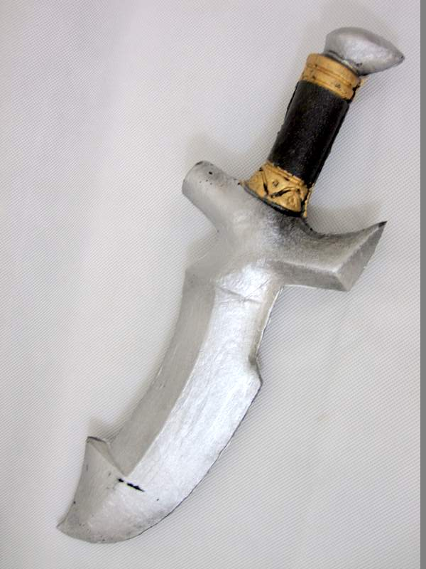 Foam Dagger with Broad Blade 39cm Toy Knife Weapon Ceasar Roman