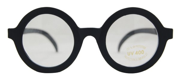 Party Glasses Harry Round Wizard Spectacles Nerd Geek Magician Magic Witch Hallo