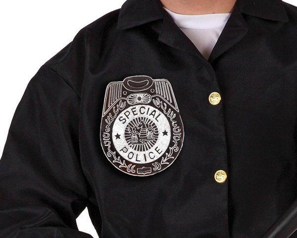 Police Badge 15cms Cop Policeman Copper Bobby