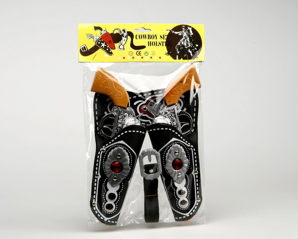 Western Cowboy Pistols & Leather Holster Wild West Cowboy & Indian