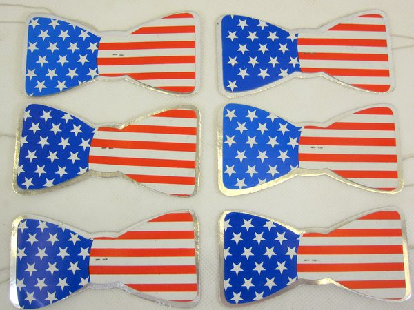 USA Party Bowties 100 Pack American United States