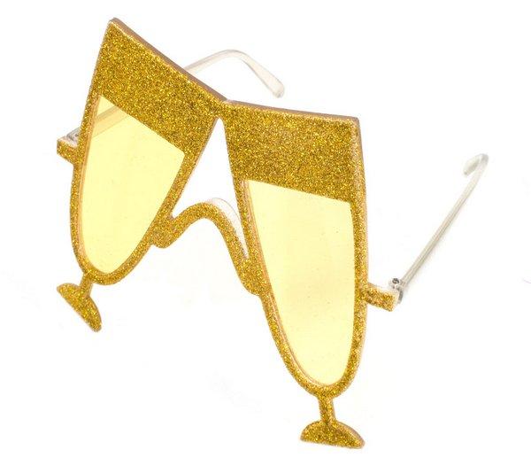 Party glasses Champagne Gold Wedding Oktoberfest Bavarian German Beerfest Beer f