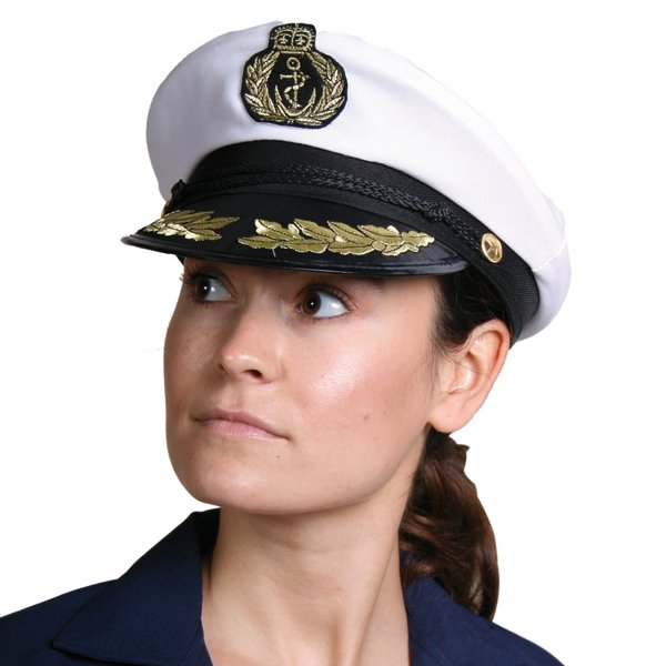 Hat Sea Captain Peaked Cap with Braid Commander General Commadore