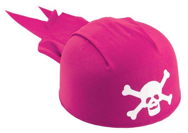 Hat Pirate Bandana Pink Buccaneer Sailor Jack Blackbeard