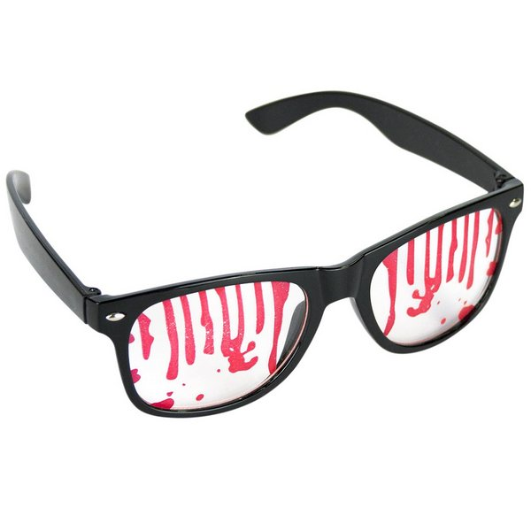 Party Glasses covered in Blood Bleeding Wound Vampire