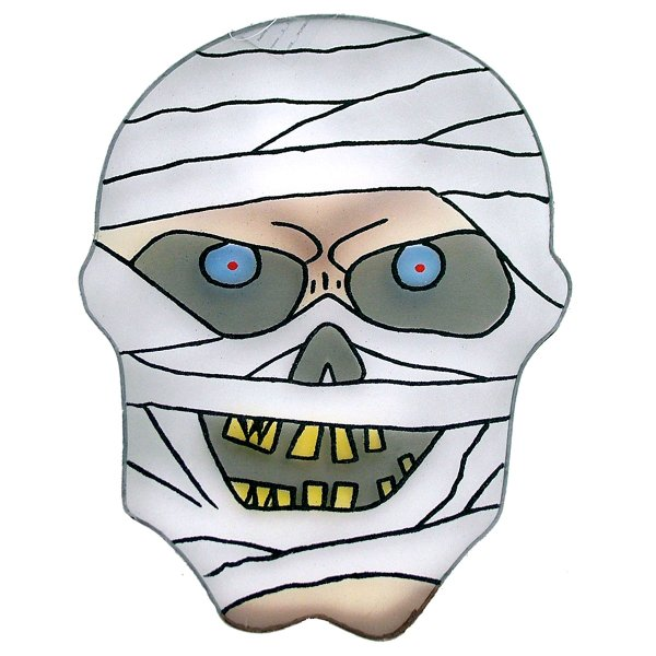 Decorative Mummy Head XL Egyptian Halloween Monster