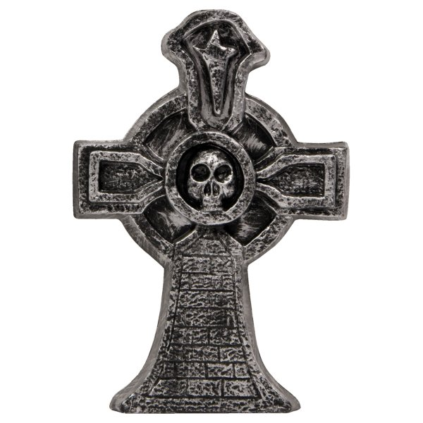 Decorative Tombstone Cross 16cm Halloween Party Grave Table Decoration Trick Or