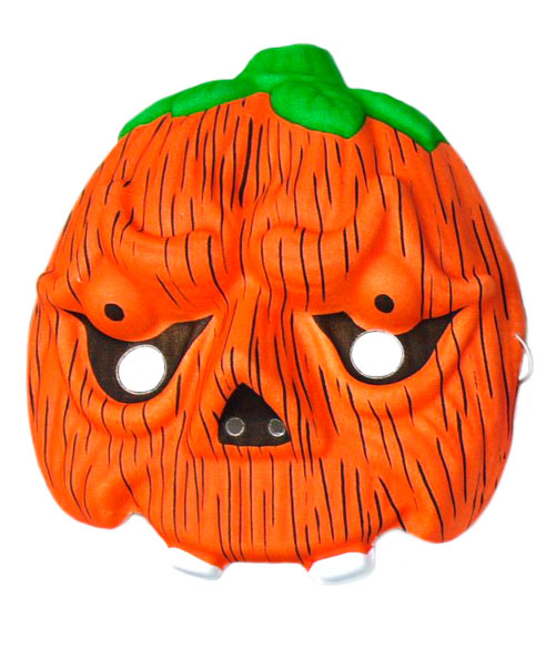 Mask Face Pumpkin Kids Halloween Trick Or Treat