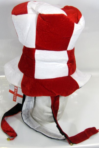 Top-Hat with Tails & Bells Red & White Christmas Festive Xmas Nativity