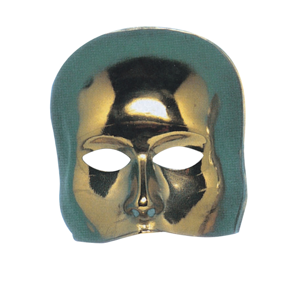 Mask Half Face Theatre Gold Stage Masquerade Players Eyes Wide Shut
