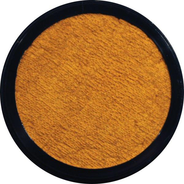 Pearlised Face Paint 3.5ml Golden Yellow Body Art