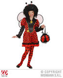 Girls LADYBUG Costume for Ladybird Bug Insect Creepy Crawly Fancy Dress Outfit