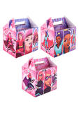 Girls Super Hero Birthday Party Lunch Boxes for Kids Pink Party Bags Toys Favors