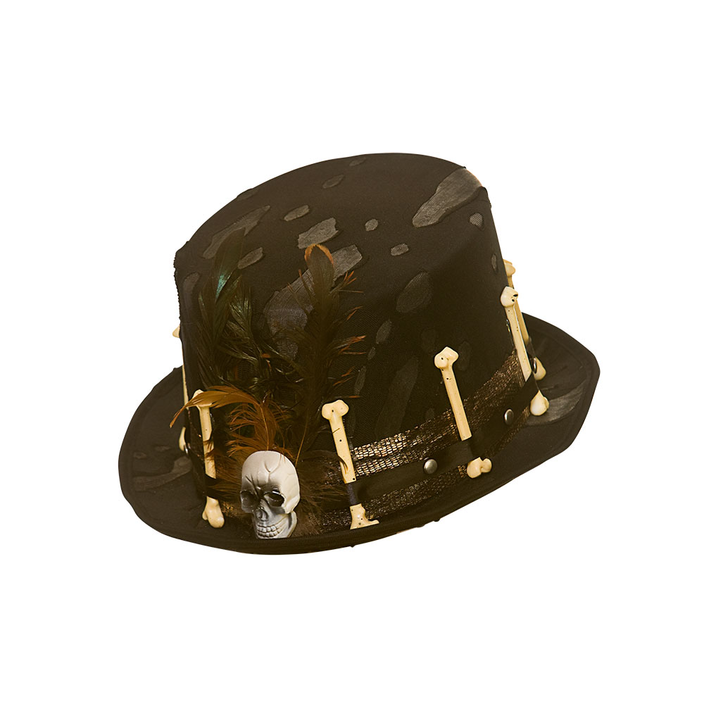 Voodoo Hat Jungle Black Magic Fancy Dress Cosplay