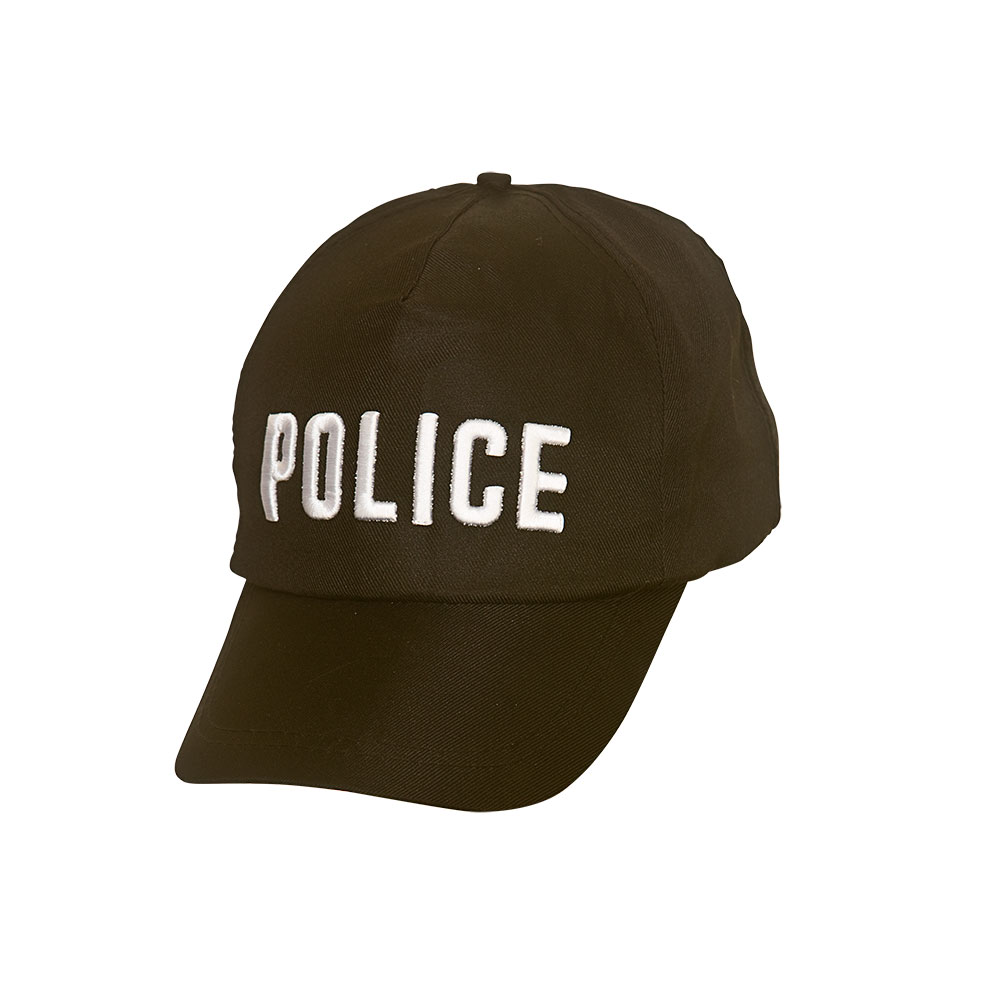 Police Cap Cop Policeman Copper Bobby Fancy Dress Cosplay