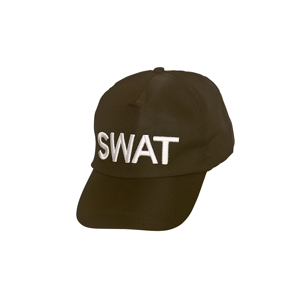 S.W.A.T Cap SWAT Police Cop Special Forces Armed Response Fancy Dress Cosplay