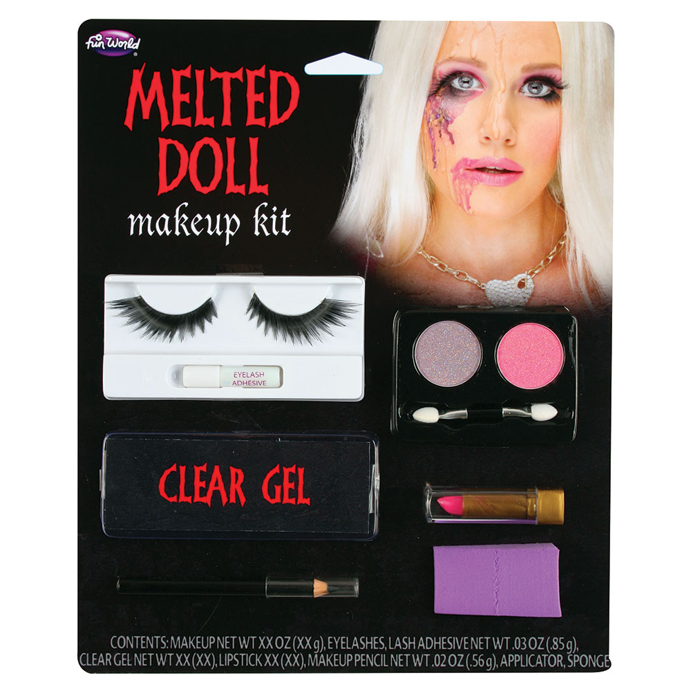 Dollface Makeup - Melted Doll SFX Fancy Dress Cosplay
