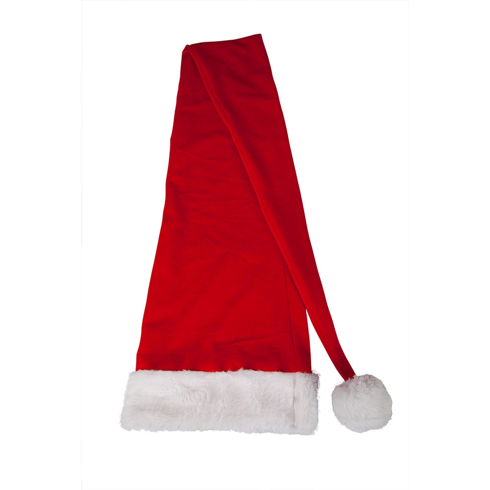Extra Long Santa Hat Father Christmas Fancy Dress Cosplay