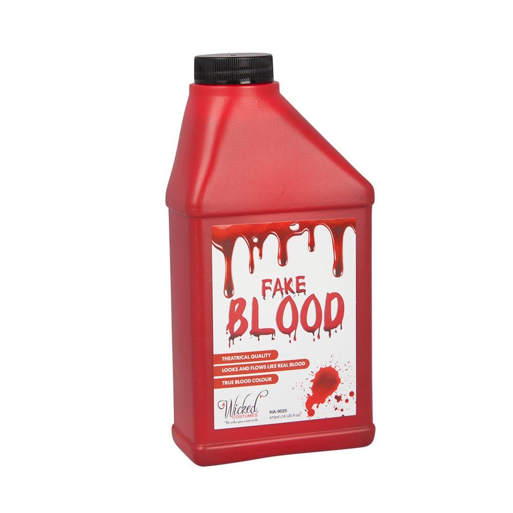 Fake Blood - Wicked GIANT16oz Fancy Dress Halloween SFX Accessory