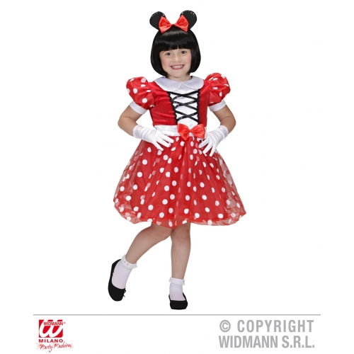 Picture 2 of 2  sc 1 st  eBay & Minnie Mouse Costume Childrens Fancy Dress Little Girl´s 104cm | eBay