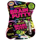 UV Brain Putty with UV Pen for Adults & Kids Bouncy Clever Slime Magic DIY Toy