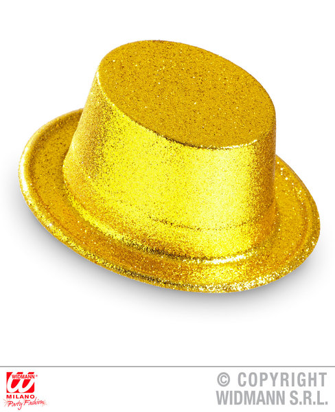 CIRCUS GLITTER TOP HAT SFX for Carnival Clown Parade Funfair Cosmetics