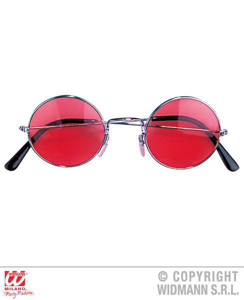 Hippie Character GLASSES WITH Hippy 60s 70s Mod Retro Vintage Fancy Dress