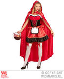 Ladies RED RIDING HOOD Accessory for Fairytale Nursery Rhyme Fancy Dress