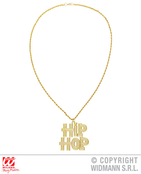 HIP HOP NECKLACE for 90s Rap Rapper Chav Accessory