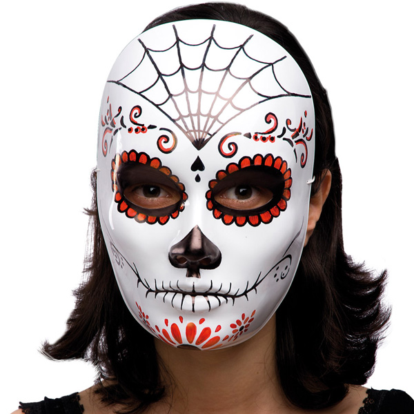 Mask Face Theatre White Decorated Face Body Paint Makeup