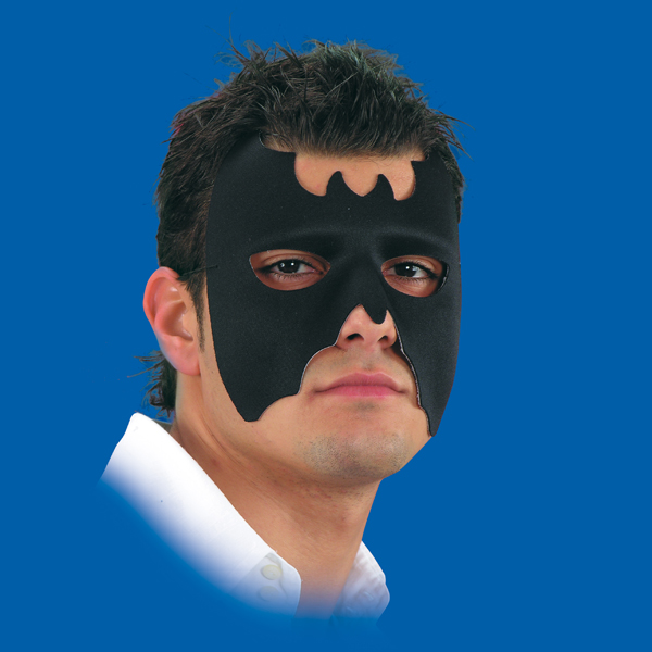 Mask Eye Bat Shape Fabric Face Body Paint Makeup