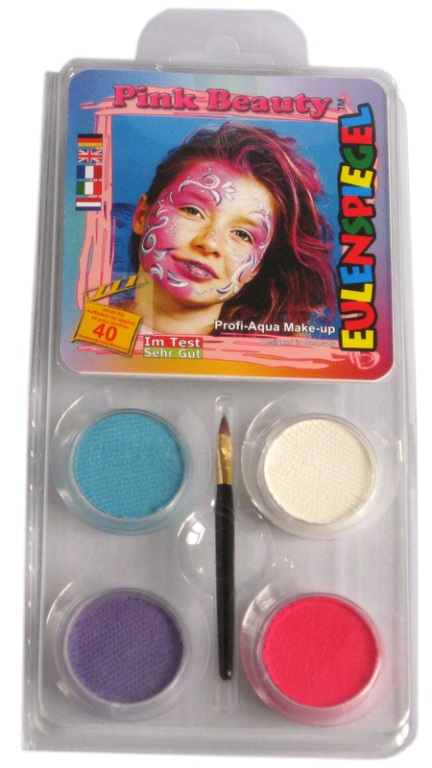 Designer a Face Pack Pink Beauty Face Body Paint Makeup Fancy Dress