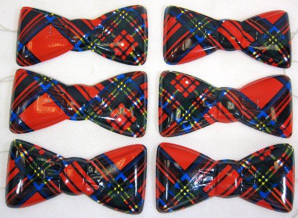 Scotland Tartan Party Bowties 100's Party Favor
