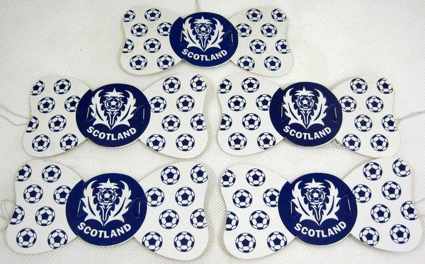 Scotland Flag Design Party Bowties 100's Party Favor