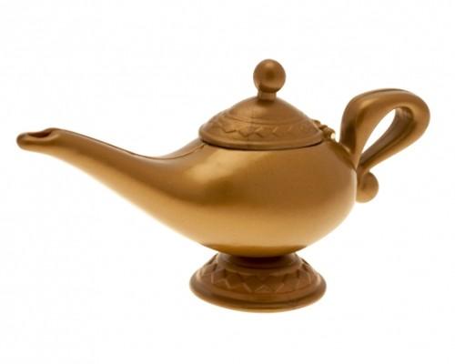 Genie Lamp for Aladdin Fancy Dress Accessory